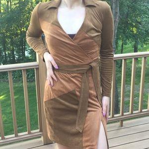 Suede dress I.N.C size 0